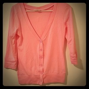Pink Button Top